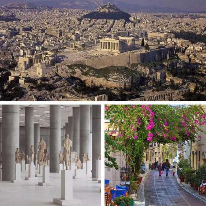 Athens Collage