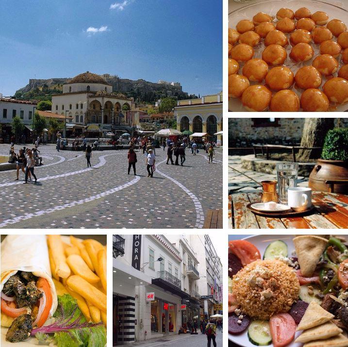Athens Meals & Monastiraki