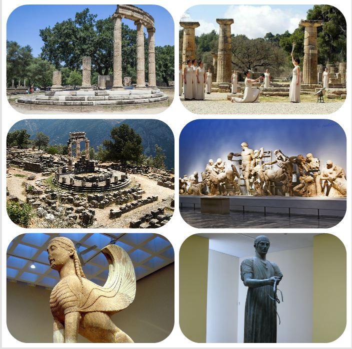 Olympia & Delphi - Archaeological Sites & Museums